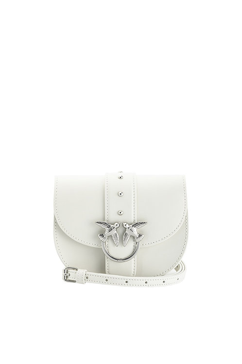 PINKO Baby Go-Round Bag Simply in Leather