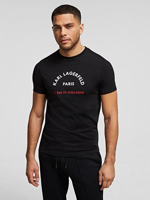KARL LAGERFELD Rue St-Guillaume Boxing T-Shirt