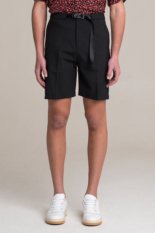 I'M BRIAN Bermuda shorts with magnetic buckle