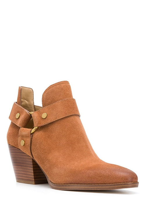 MICHAEL KORS Pamela Suede Ankle Boot
