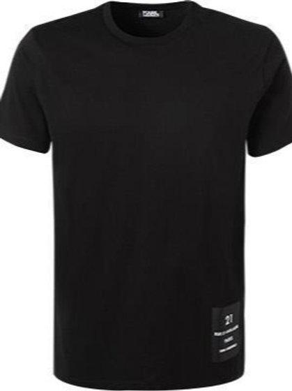 KARL LAGERFELD Rue St-Guillaume Logo T-shirt