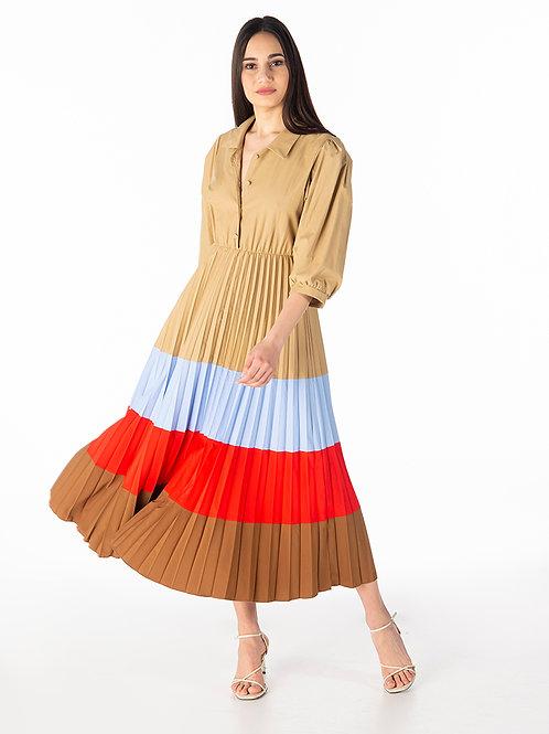 Tensione In Poplin Dress