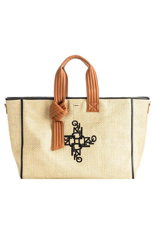 PINKO Horizontal Big Shopping Bag FL