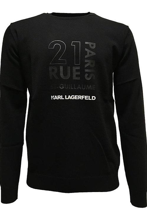 KARL LAGERFELD Knit Crewneck