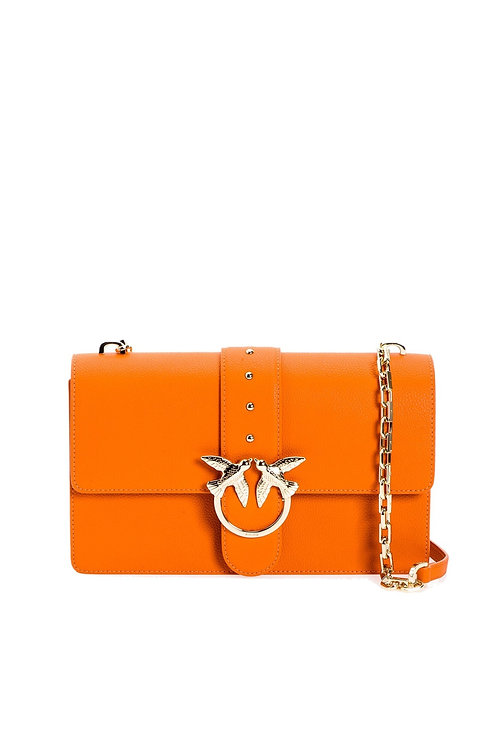 PINKO  Love Bag Simply In Tumbled Leather