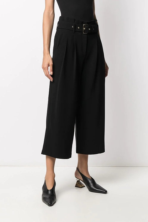 MICHAEL KORS High-Waist Belted Trousers