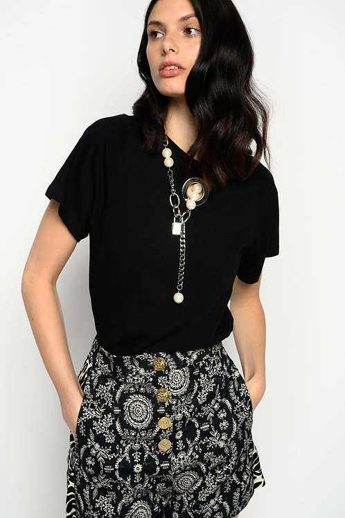 PINKO T-shirt With Pearls