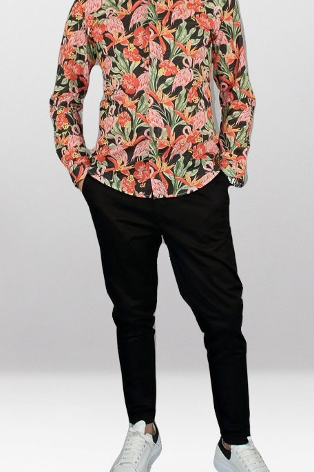 GIANNI LUPO FLAMINGO SHIRT