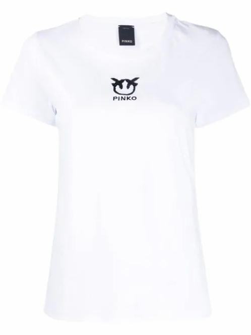 PINKO t-shirt white bussolano