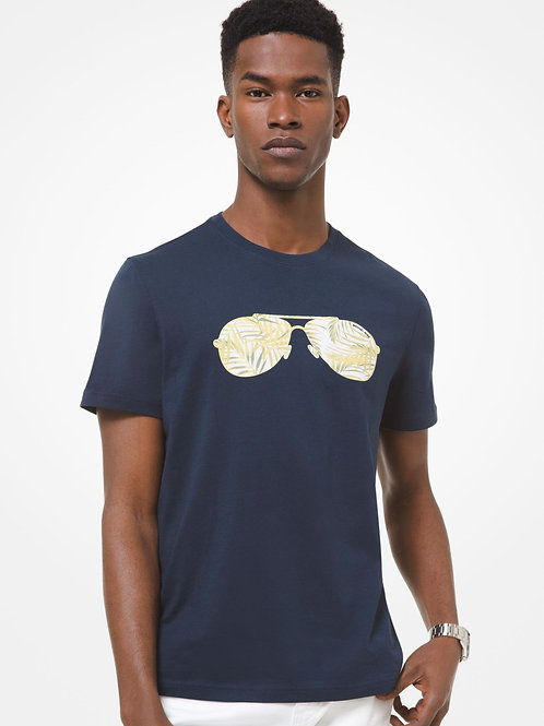 MICHAEL KORS Printed Cotton T-Shirt