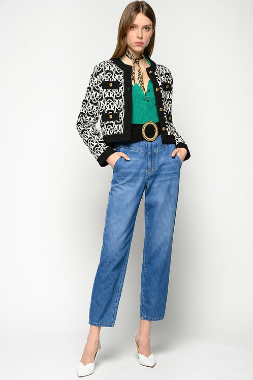 PINKO  Cammie High-Rise Carrot-Fit Jeans