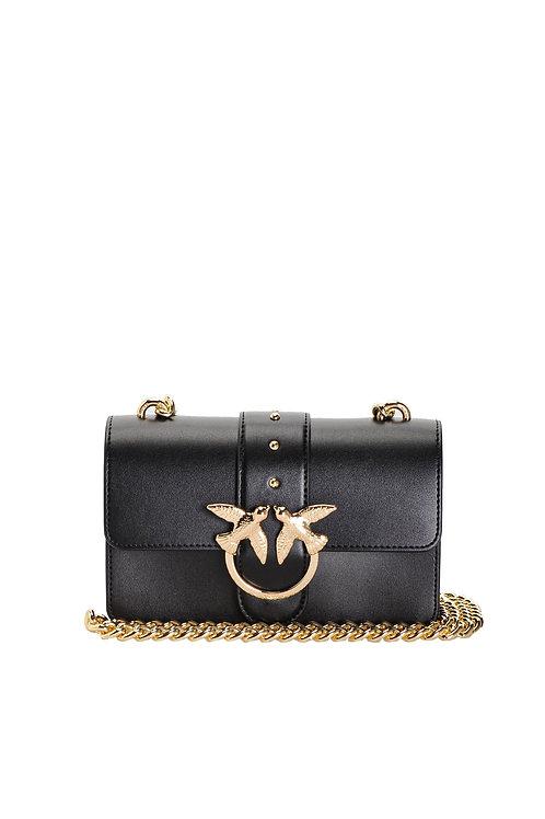 PINKO Mini Love Bag Simply in leather