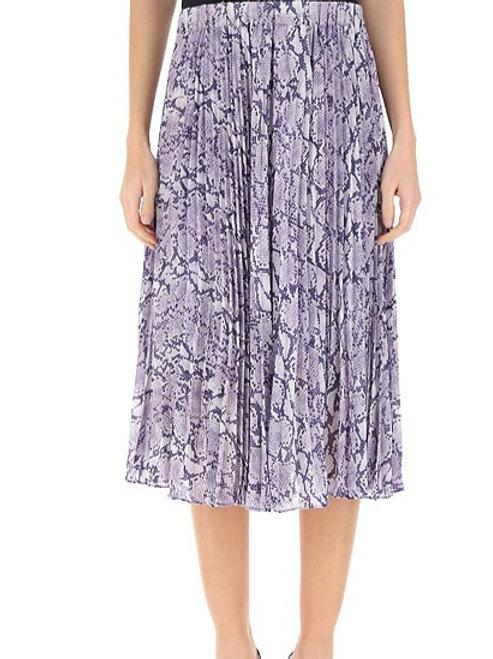 MICHAEL KORS Python Printed Skirt