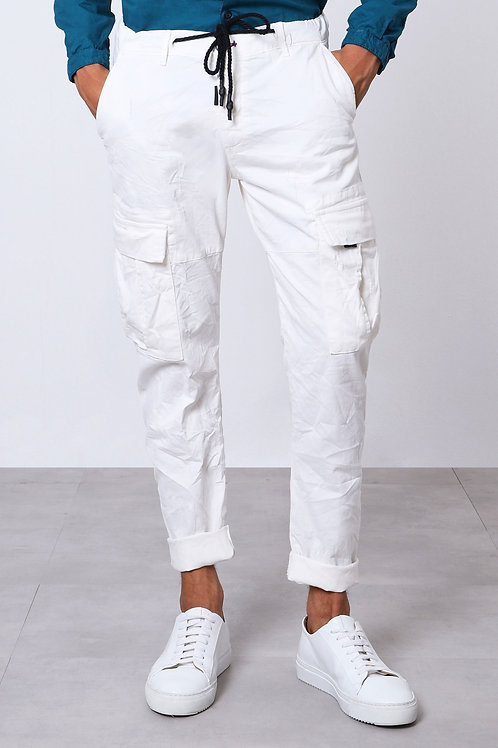 IMPERIAL CARGO TROUSERS With Drawstring Detail