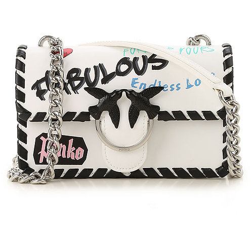 PINKO Mini Love Faboulous Shoulder Bag