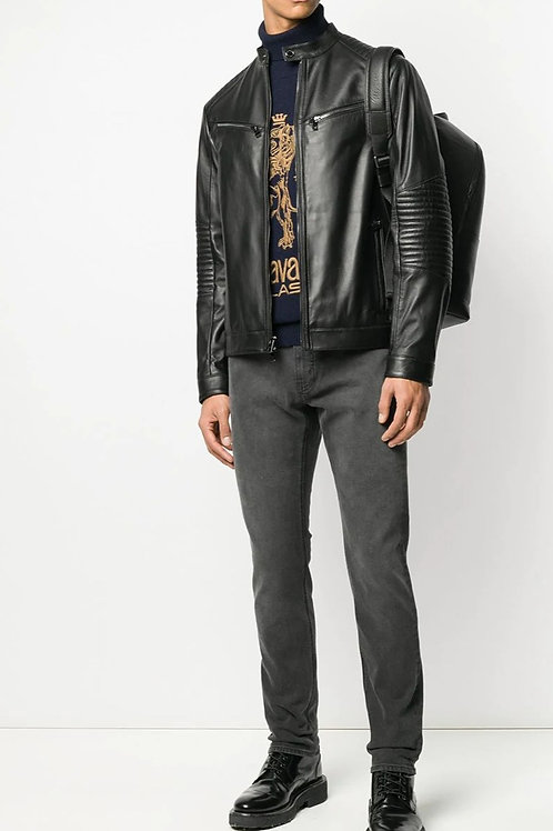 MICHAEL KORS Slim-fit Stonewashed-Effect Jeans