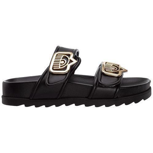 CHIARRA FERRAGNI Leather Sandals