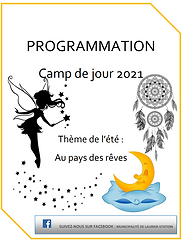 Capture page couverture programmation CD
