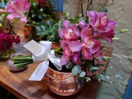 Buquê com Orquídea