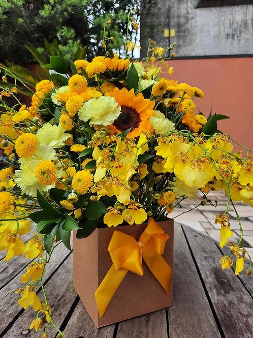 Caixa de Flores - G