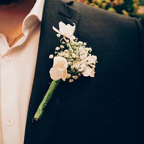 Flor de Lapela - Mini Orquídeas