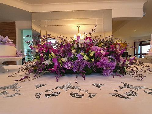 Centro de Mesa - M com Orquídeas