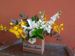 Envelope de flores