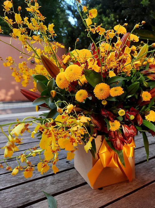 Caixa de Flores - M