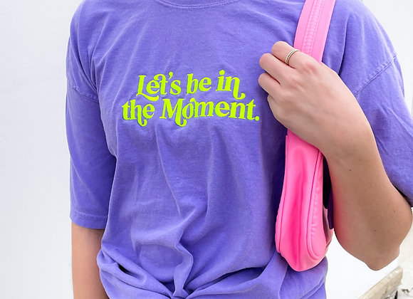 In The Moment Tee | Purple
