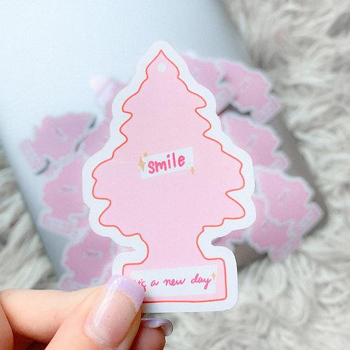 Air Freshener Sticker