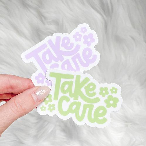 Take Care Stickers