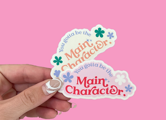 Main Character Stickers