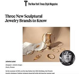Juliette Laloë New York Time