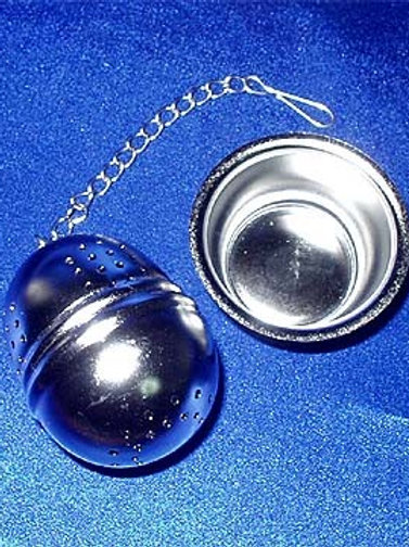 Stainless Steel Tea Ball With Drip Tray