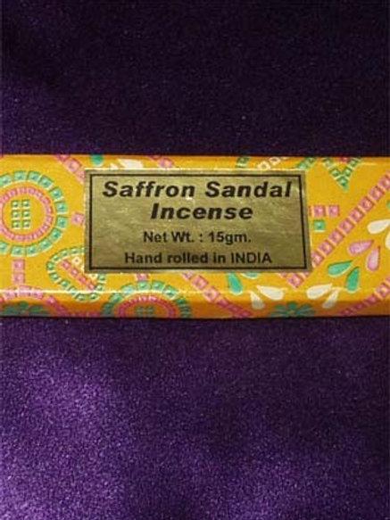 Saffron Stick Incense