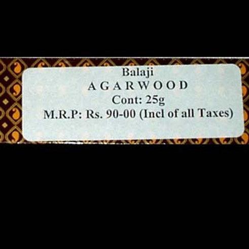 Balaji Agarwood Incense