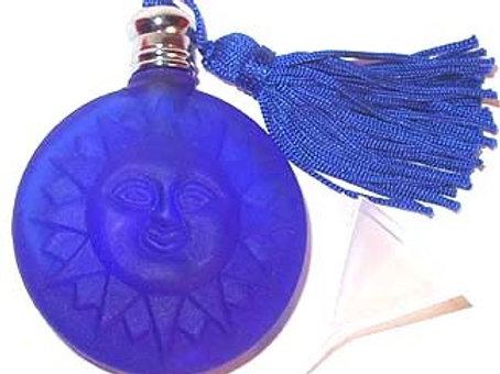 Cobalt Blue Sun Perfume Bottle
