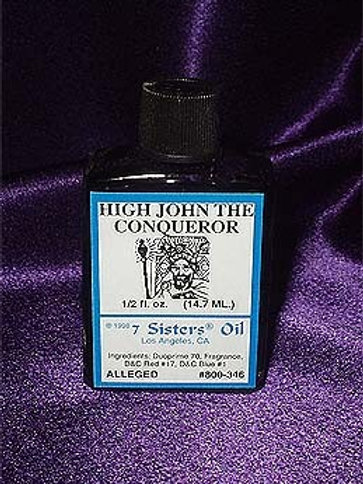 High John the Conquer Spell Oil