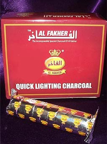Al-Fakher Charcoal 33mm Single Roll