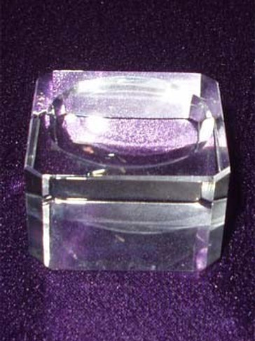 Glass Crystal Ball Stand LG