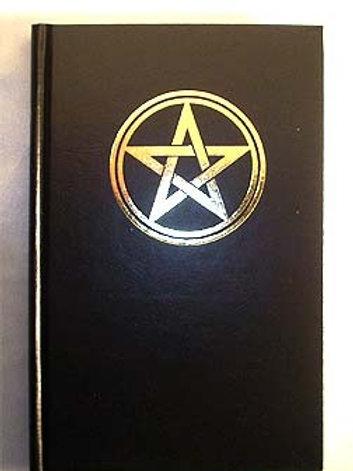 Book Of Shadows Gold Pentagram