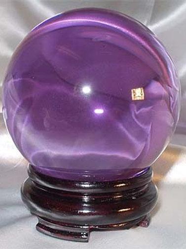 Lavender Crystal Ball