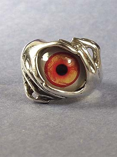 EYEBALL RING - RED