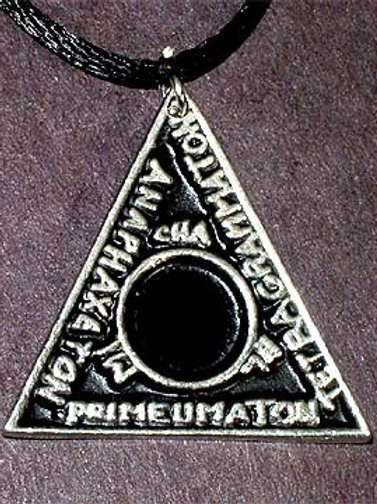 Magic Triangle Amulet
