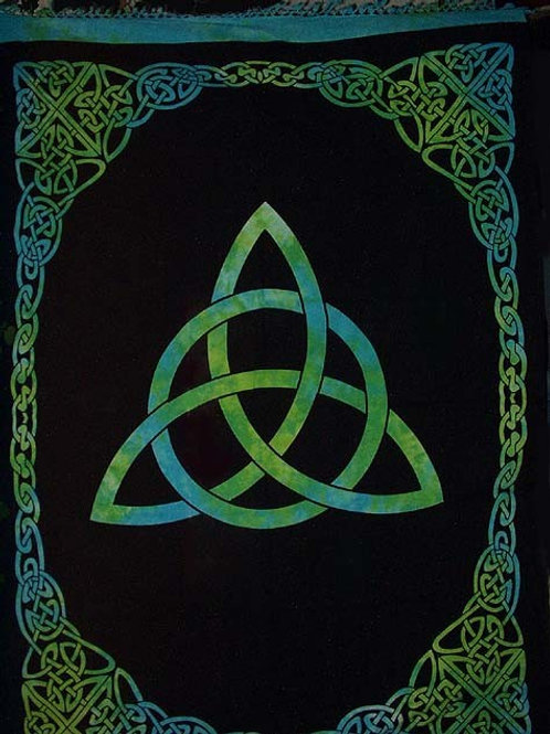"""TRIQUETRA TAPESTRY 70""""x104"""""""