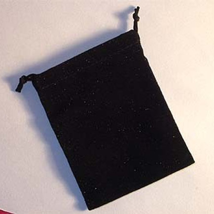 100 SUEDE POUCHES