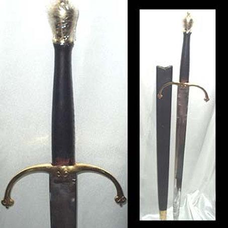 MEDIEVAL BATTLE SWORD