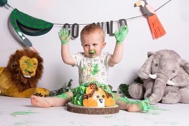 hoeraa 1 jaar cakesmash fotograaf bonarius