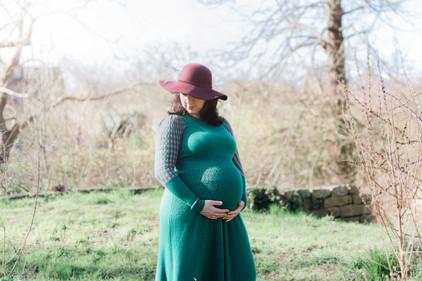 Bonarius fotografie zwangerschapshoot kweektuin