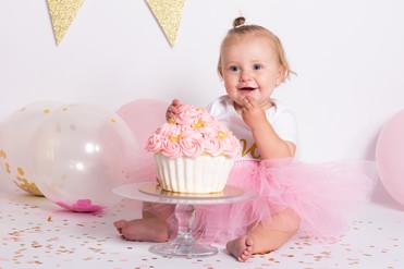 cakesmash eerste verjaardag bonarius fotografie